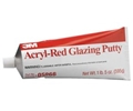 3M Acryl-Red Glazing Putty 12oz Tube