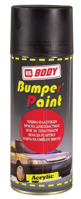 hb body bumper paint aerosol 400ml black light grey mid. Black Bedroom Furniture Sets. Home Design Ideas