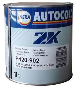 Nexa autocolor ici 2k solvent based sb car paint tinters p420 for Solvent based glass paint