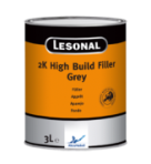 Lesonal 2K High Build Filler Grey 3L