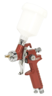 Sealey HVLP Gravity Feed Touch-Up Spray Gun 0.8mm Set-Up Model No. HVLP731
